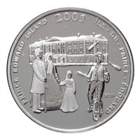 2001 Canada 50-cent Festival of the Fathers Sterling Silver