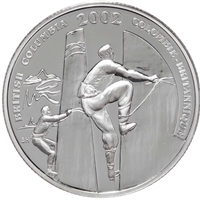 2002 50-cent Festivals of Canada - Squamish Days Sterling Silver