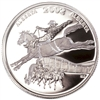2002 50-cent Festivals of Canada - Calgary Stampede Sterling Silver