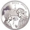 2002 Canada 50-cent Stratford Festival Sterling Silver