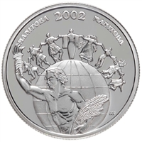 2002 50-cent Festivals of Canada - Folklorama Sterling Silver