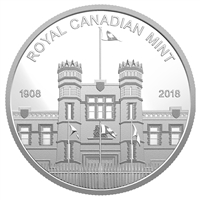 2018 Canada Silver Medallion from Proof Set Featuring the Ottawa and Winnipeg Mints