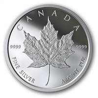2019 Classic Canadian Maple Leaf Medallion in Square Capsule (No Tax)