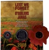 2008 Canada Lest We Forget 90th Anniversary of the End of WWI