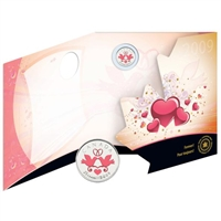 2009 Canada Share The Love Wedding Greeting Card with 25 Cent