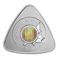 2009 Canada 50-Cent Six String Nation Guitar Triangle Coin