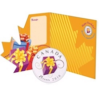 2010 Canada Birthday 25-cent Gift Set