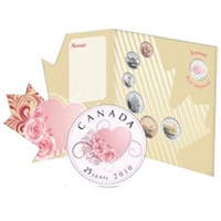 2010 Canada Wedding (Forever Heart) 7-coin Gift Set
