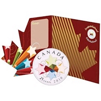 2010 Canada Congratulations 25-cents Greeting Card