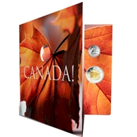 2011 Oh Canada 7-coin Gift Set with struck 25ct