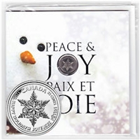 2011 Canada Holiday 7-coin Commemorative Coin Set with Snowflake 25ct.