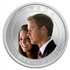 2011 Canada 25ct Wedding Celebration - Prince William & Kate Middleton