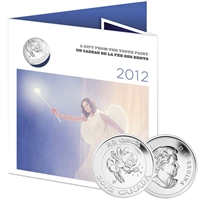 2012 Canada 25 Cent Gift Card Tooth Fairy.