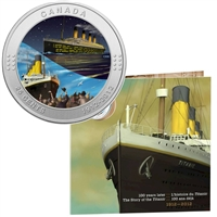 2012 Canada 25-Cent R.M.S. Titanic Coloured Coin