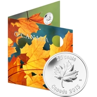 2013 Oh Canada Gift Set with Commemorative 25-cent
