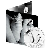 2013 Canada Baby Gift Set with Commemorative 25-cent