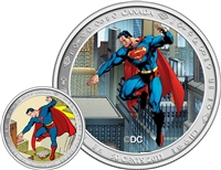 2013 Canada 50-cent Superman: Then and Now Lenticular Coin & Stamp Set