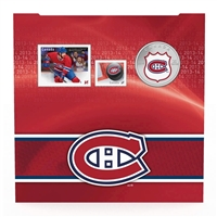 2014 Canada 25-cent Montreal Canadiens Pop-Up Jersey Coin & Stamp Set