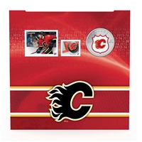 2014 Canada 25-cent Calgary Flames Pop-Up Jersey Coin & Stamp Set