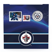 2014 Canada 25-cent Winnipeg Jets Pop-up Jersey Coin & Stamp Set