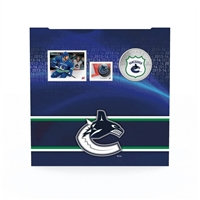 2014 Canada 25-cent Vancouver Canucks Pop-Up Jersey Coin & Stamp Set