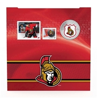 2014 Canada 25-cent Ottawa Senators Pop-Up Jersey Coin & Stamp Set