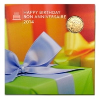 2014 Canada Birthday Gift Set with Commemorative Loon