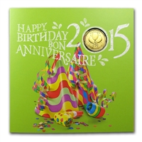 2015 Canada Birthday Gift Set with commemorative Loon Dollar - 133220
