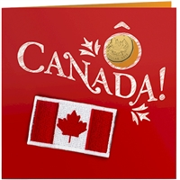 2015 Oh Canada Gift Set with commemorative Loon Dollar