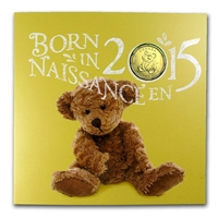 2015 Canada Baby Gift Set with struck Loon Dollar - 133223