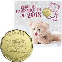 2018 Canada Baby Gift Set with Special Loon Dollar