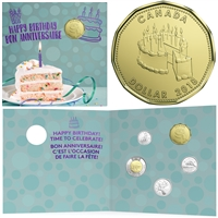2018 Canada Birthday Gift Set with Special Loon Dollar