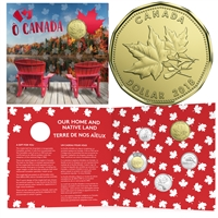 2018 Oh Canada Gift Set with Special Loon Dollar