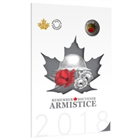 2018 Canada Armistice Collector Card 6-coin Commemorative Set