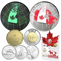2018 Canada From Far and Wide Circulation Coin Set