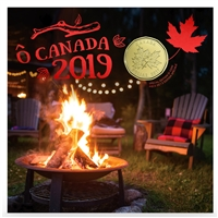 2019 O Canada Gift Set with Maple Leaf Loon