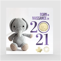 2021 Canada Baby Gift Set with Special Loon Dollar