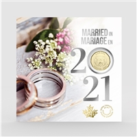 2021 Canada Wedding Gift Set with Special Loon Dollar
