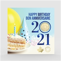 2021 Canada Birthday Gift Set with Special Loon Dollar