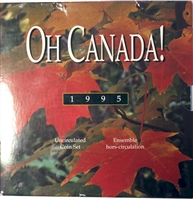 1995 Oh Canada Set (includes Peacekeeping Commemorative $1)