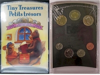 1999 Canada Tiny Treasures Baby Coin Set