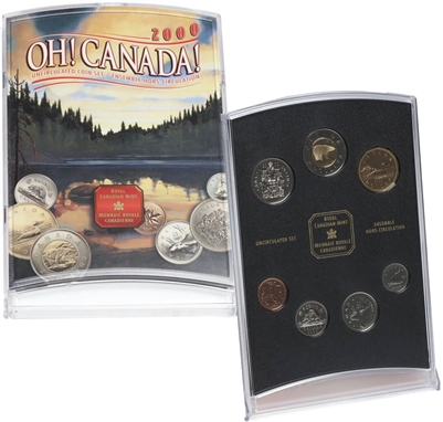 2000 Oh Canada Gift Set.