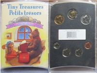 2000 Canada Tiny Treasures Baby Coin Set -