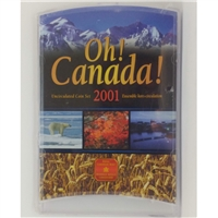 2001 Oh Canada Set (contains the scarce 2001P 1ct and 2001 Loon $1)