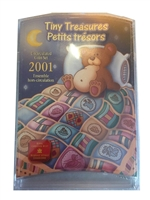 2001 Canada Tiny Treasures Baby Coin Set.