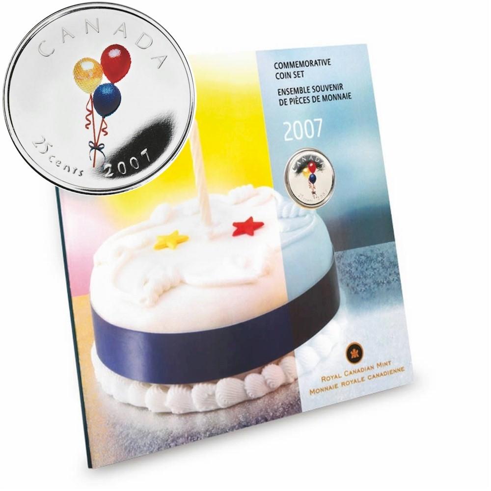 2007 Canada Birthday Gift Set