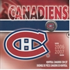 2007 Canada Montreal Canadiens NHL Coin Set with Colourized 25 Cents.