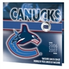 2007 Canada Vancouver Canucks NHL Coin Set with Colourized 25 Cents.