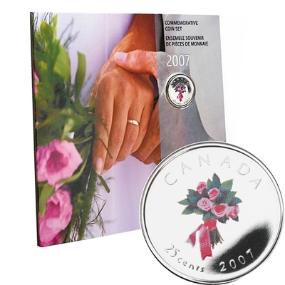 2007 Canada Wedding Gift Set.