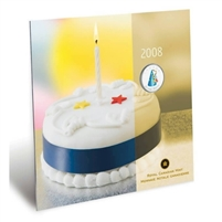 2008 Canada Birthday 25-cent Gift Set - Party Hat